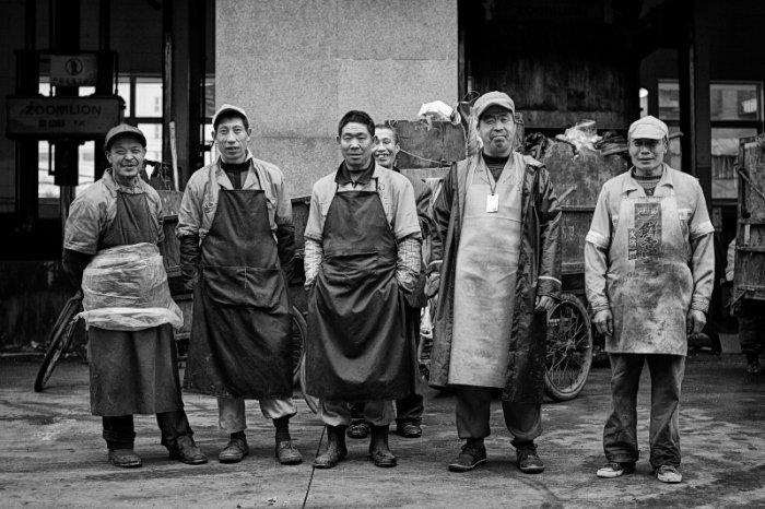 Photo Series: Market Workers in Chengdu