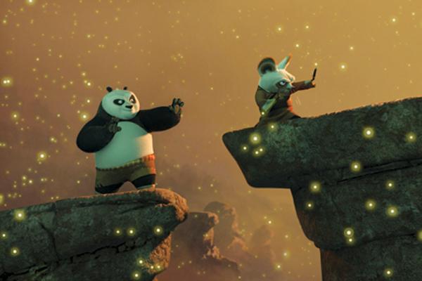 Panda Kung Fu's His Way Around the World