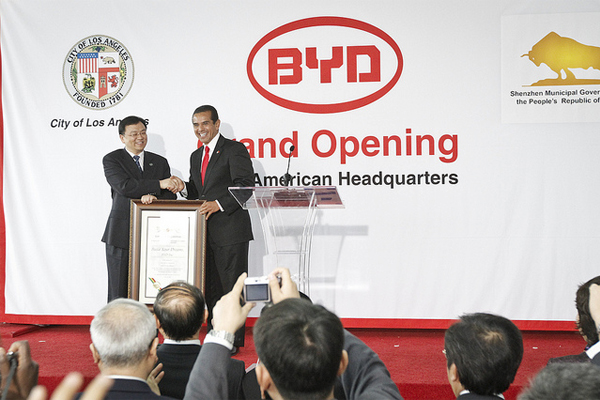 Chinese Investment in the US: BYD Auto Company