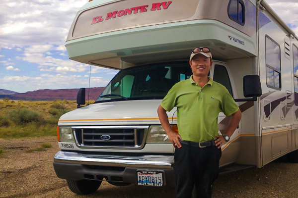 On the Road: Chinese RV Tourism in the U.S.